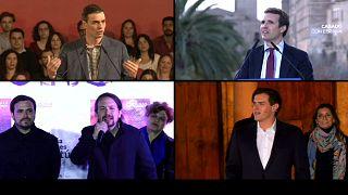 Elecciones en España: Primer debate electoral íntegro