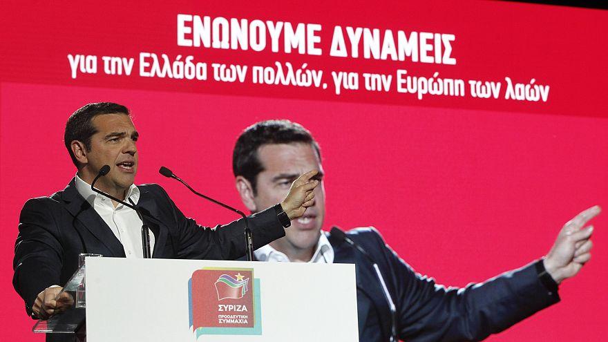 Το ευρωψηφοδέλτιο του ΣΥΡΙΖΑ παρουσίασε ο Αλέξης Τσίπρας