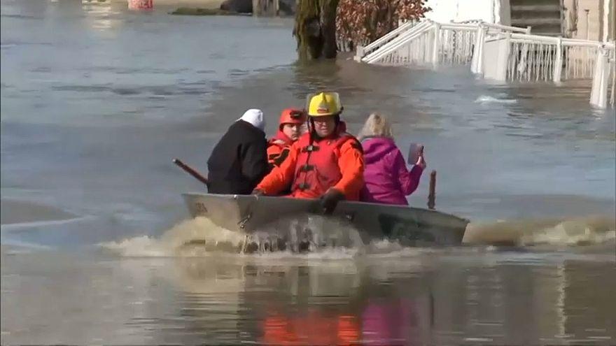 فيضانات في كندا