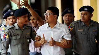 Myanmar'da tutuklu 2 gazetecinin davasında temyiz başvurusu reddedildi