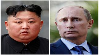بوتين وكيم