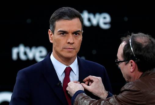 Spanish elections: Catalonia issue dominates first TV debate