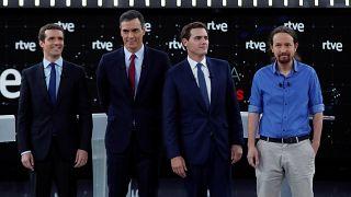 Elecciones en España: ¿Quién ganó el primer debate a cuatro?