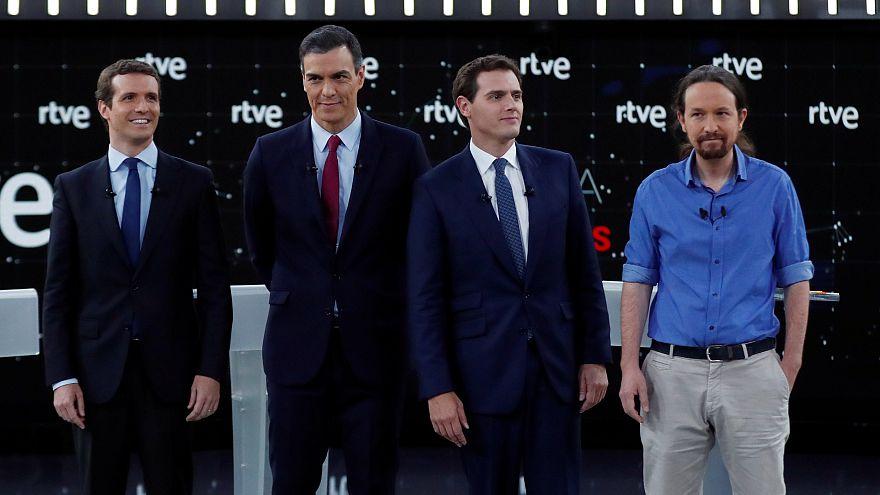 Elecciones en España: Sigue la decisiva noche electoral del domingo 28 de abril con Euronews