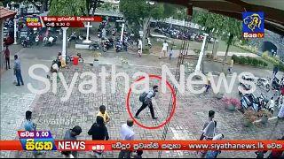 Подозреваемый в совершении теракта на Шри-Ланке