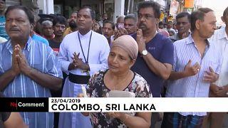 Trauer nach Anschlägen in Sri Lanka