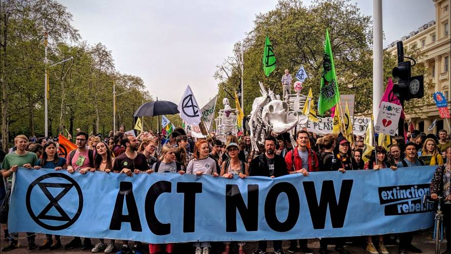 Extinction Rebellion - Hey House of Commons, could we make it any clearer?