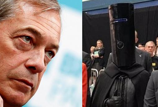 Image of Lord Buckethead taken from his campaign website