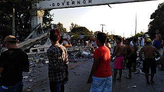 Ascienden a 16 los muertos en el terremoto en Filipinas