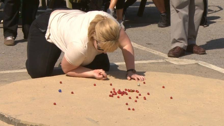 Brits lose their marbles to Germans in annual World Championship