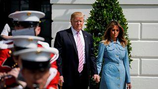 ترامپ به دعوت ملکه الیزابت با تشریفات کامل به بریتانیا سفر میکند