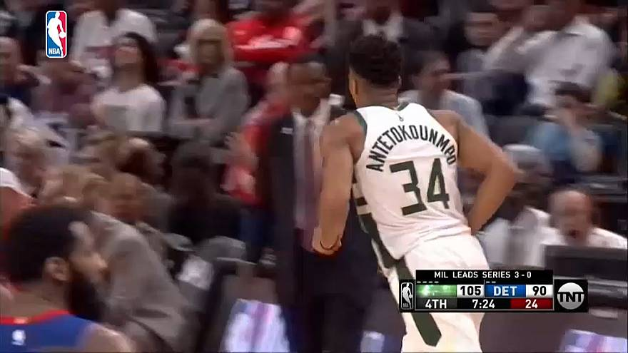 NBA: A Bucks kisöpörte a Pistonst