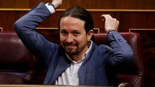 Elections en Espagne : Pablo Iglesias, le leader de Podemos