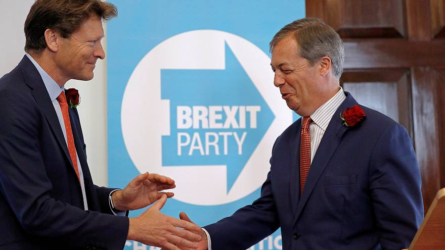 European elections 2019: Fragmented UK politics boosts Farage's Brexit party, reveals poll