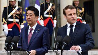 Macron ve Abe, Renault-Nissan'ın geleceğini ve Ghosn soruşturmasını görüştü