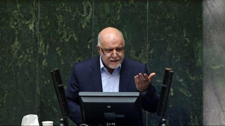 بیژن زنگنه وزیر نفت ایران