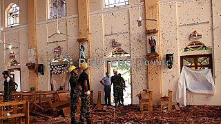 L'Eglise Saint-Sebastian, une des cibles des attaques-suicide au Sri Lanka