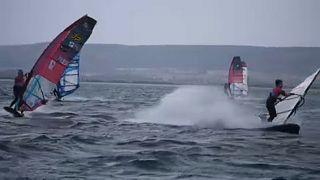 Windsurf: vele a Marignane