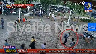تصاویر دوربین مداربسته از مظنون احتمالی حمله به کلیسا در سریلانکا