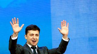 الرئيس الأوكراني فولوديمير زيلينسكي