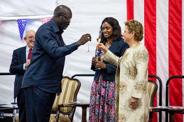 U.S. Embassy in Monrovia, Liberia
