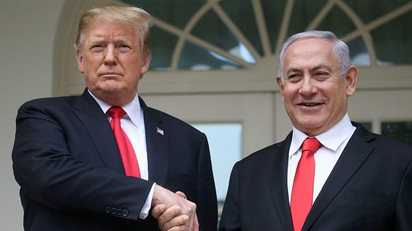 U.S. President Donald Trump &  Israel's Prime Minister Benjamin Netanyahu