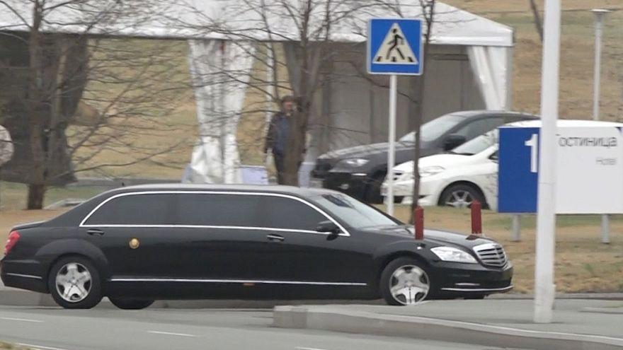 Kim Jong-un in Russia da Putin