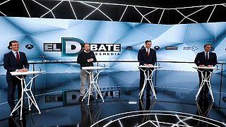 Vor Spanienwahl: Schlagabtausch bei zweitem TV-Duell