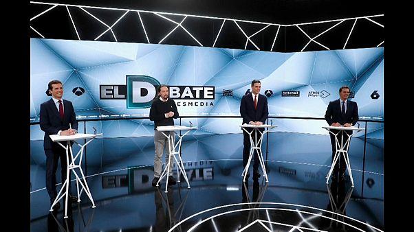 Bronco segundo y definitivo debate en España