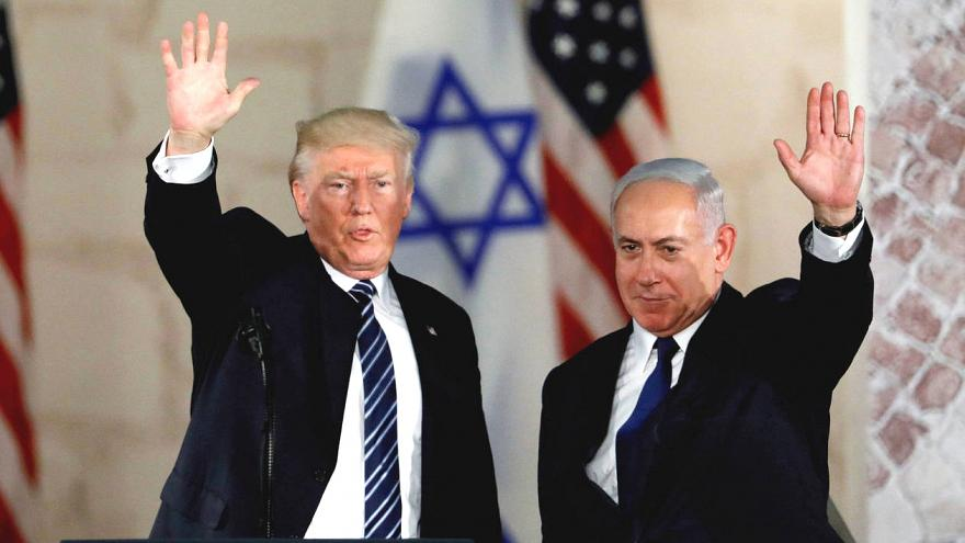 İsrail Golan Tepeleri'ndeki bir yerleşim birimine Trump'ın adını verecek