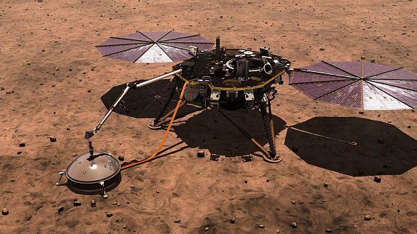 NASA Mars'ta ilk kez deprem tespit etti