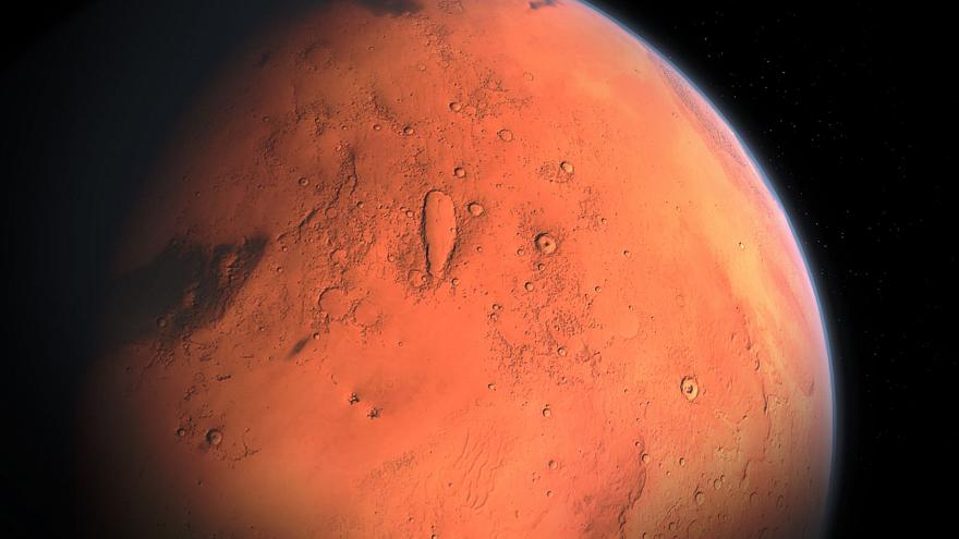NASA lander detects first likely 'Marsquake' on the red planet