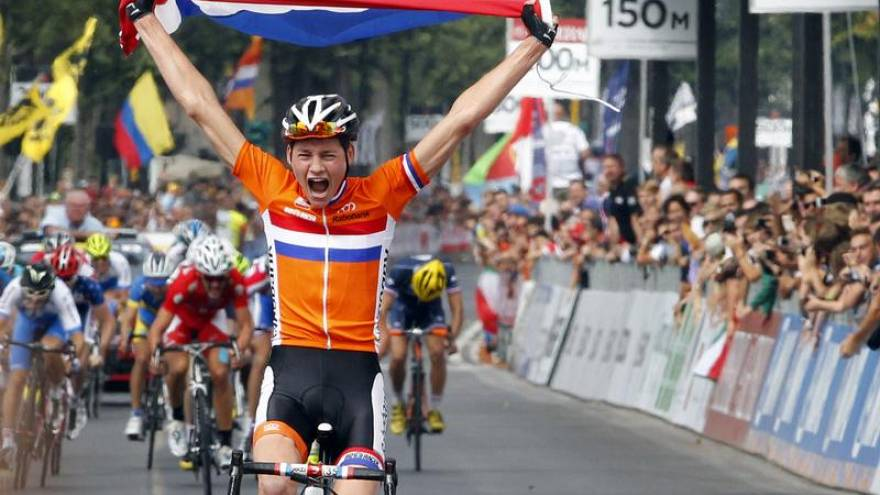 28.9.2013, Firenze: Mathieu Van der Poel è campione del mondo Juniores.