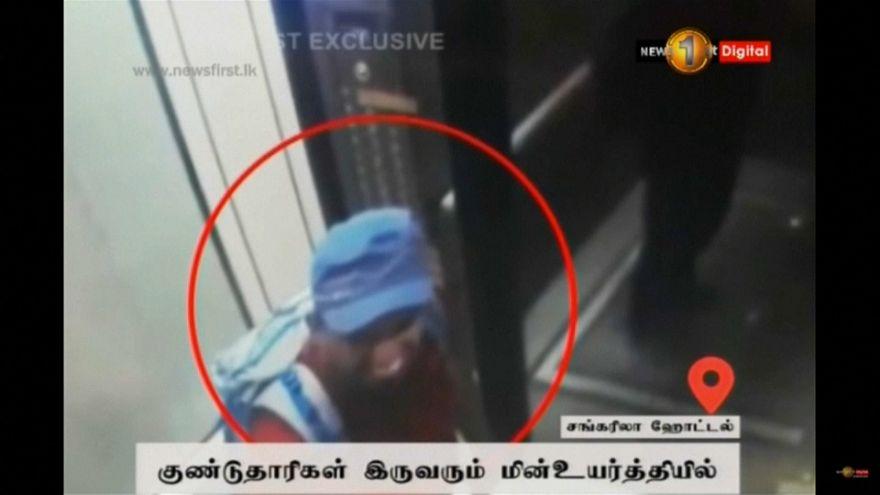 شاهد: لحظة الانفجار الانتحاري داخل أحد فنادق سريلانكا المنكوبة
