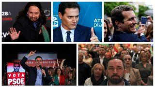 Spanyol választások - kik a főbb jelöltek, és mivel próbálnak voksokat szerezni?