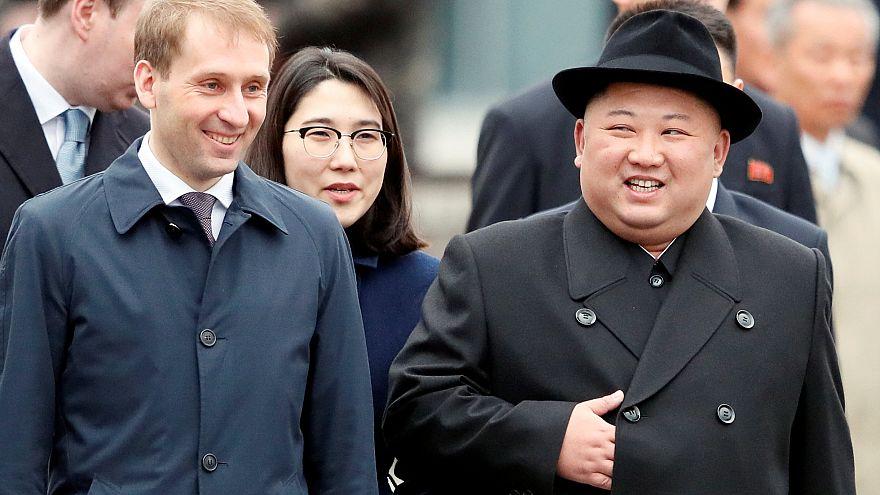 Kim Jong-Un en Russie pour un premier sommet avec Poutine