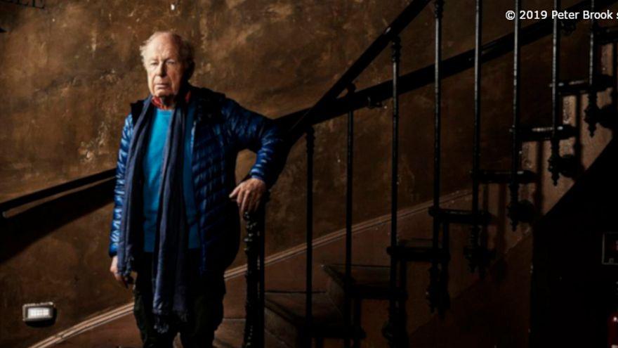 El director de teatro inglés Peter Brook, premio Princesa de Asturias de las Artes 2019