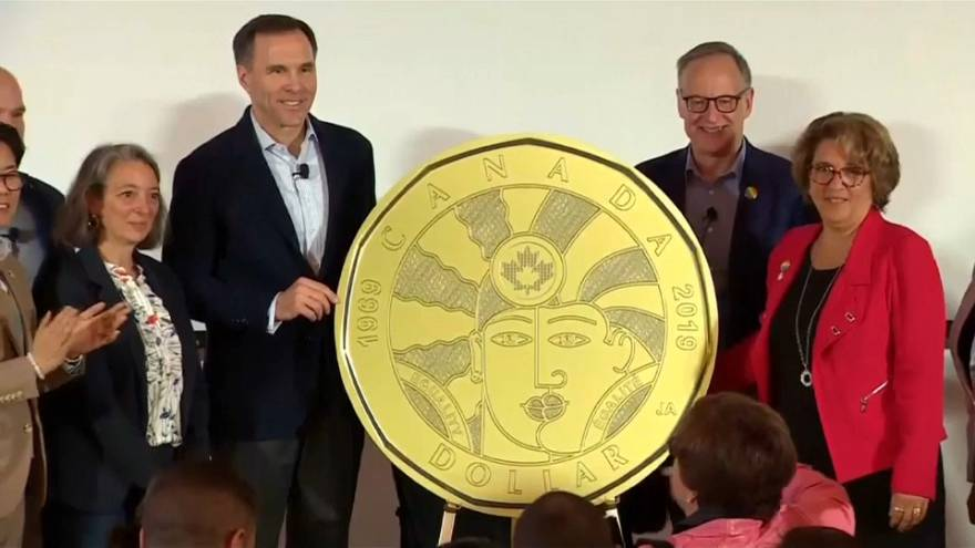 Watch: Canada marks '50 years of progress' with LGBTQ coin