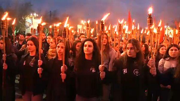"""يرفان تحيي الذكرى الـ104 لـ """"مذابح الأرمن"""".. وأنقرة: أرشيفنا مفتوح لمن يريد الحقيقة"""