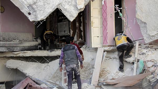 Suriye'nin İdlib kentinde patlama