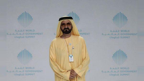 رئيس الوزراء الإماراتي  الشيخ محمد بن راشد