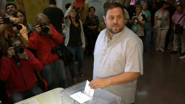 Oriol Junqueras, el candidato en prisión