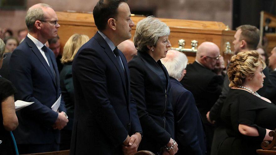 В Белфасте прошли похороны убитой журналистки