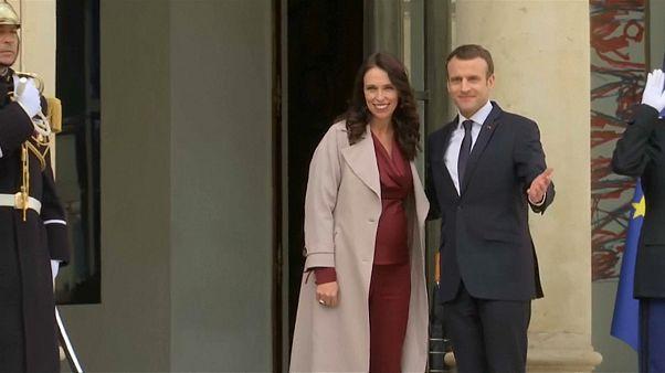"""Nueva Zelanda y Francia se unen contra el terrorismo """"online"""""""