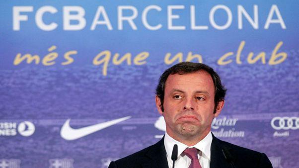 ساندرو روسيل الرئيس السابق لنادي برشلونة