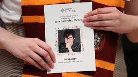 Lyra McKee: Watch coverage of the funeral of the murdered Northern Irish journalist