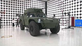 Video   Türkiye'nin ilk elektrikli zırhlı aracı Akrep II görücüye çıktı