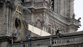 Dohányoztak a Notre-Dame felújításán dolgozó munkások
