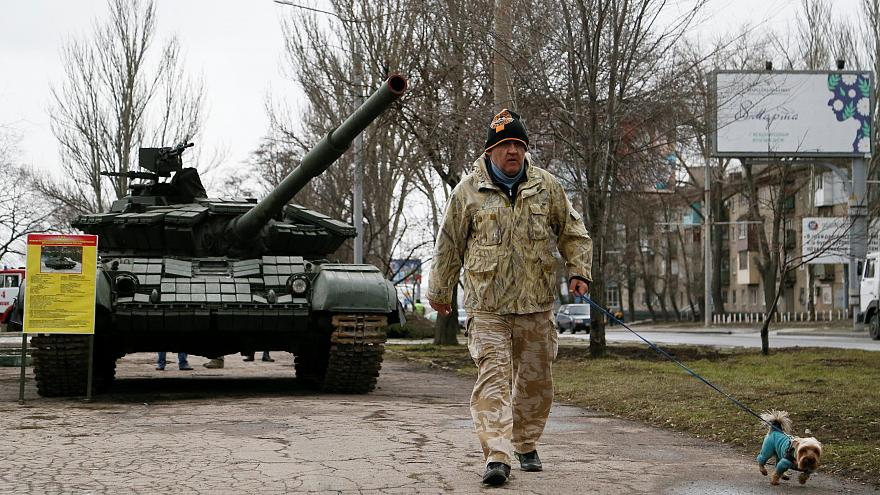 A military exposition in Donetsk, March 2019 /File photo