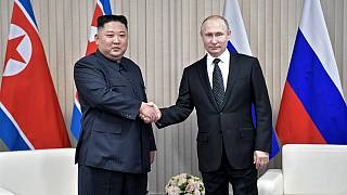 دیدار رهبر کره شمالی با رئیس جمهوری روسیه